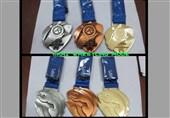 کشتی قهرمانی جهان| قزاقستانیها از مدالها رونمایی کردند