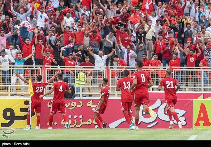 لیگ برتر فوتبال| تراکتور با دومین برد خانگی به رده دوم رسید