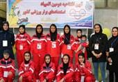 نایب قهرمانی دختران هاکیباز خراسان جنوبی در المپیاد استعدادهای برترورزشی 