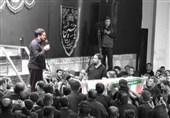 روضه آذری مرحوم محمدباقر منصوری برای حضرت امالبنین (س)