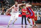 لیگ بسکتبال چین| درخشش حدادی در روز شکست تیمش