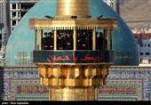 شور پرشور حسینی در ظهر عاشورایی بارگاه منور امام هشتم(ع) + تصاویر