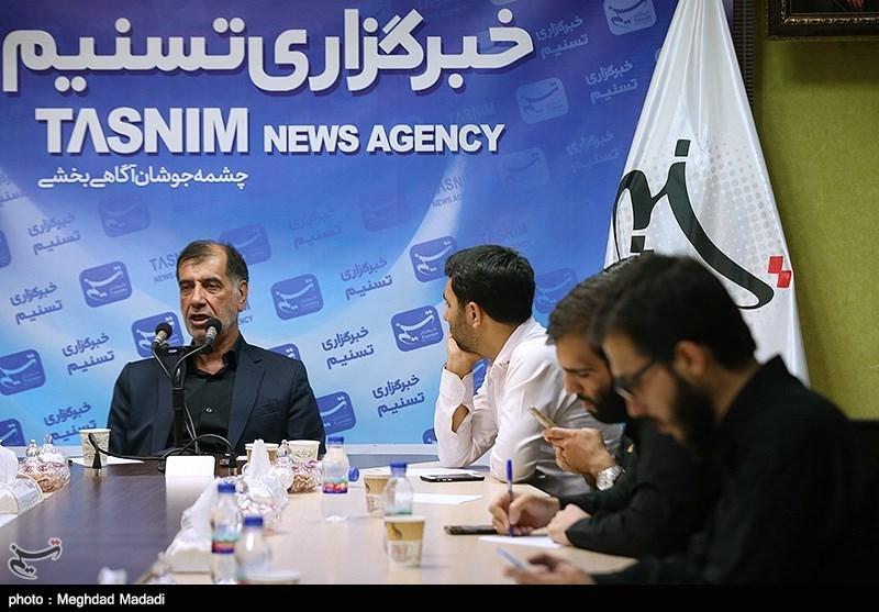 نشست خبری محمدرضا باهنر در تسنیم