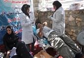 عشایر بویراحمد به همت پزشکان جهادگر ویزیت رایگان شدند+تصاویر