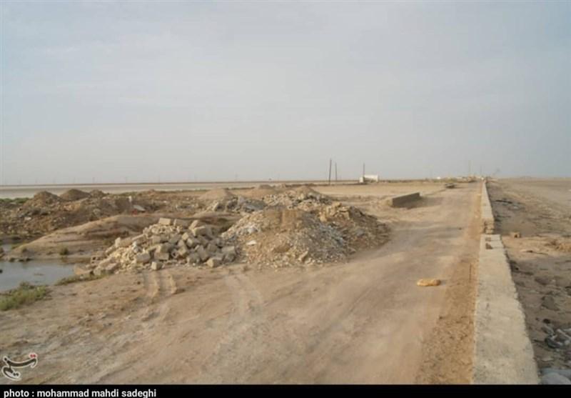 خوزستان|پروژه ملی پارک ساحلی بندر بحرکان هندیجان همچنان لاکپشتی پیش میرود