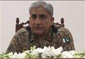 فرمانده ارتش پاکستان: کشمیریها را تنها نخواهیم گذاشت