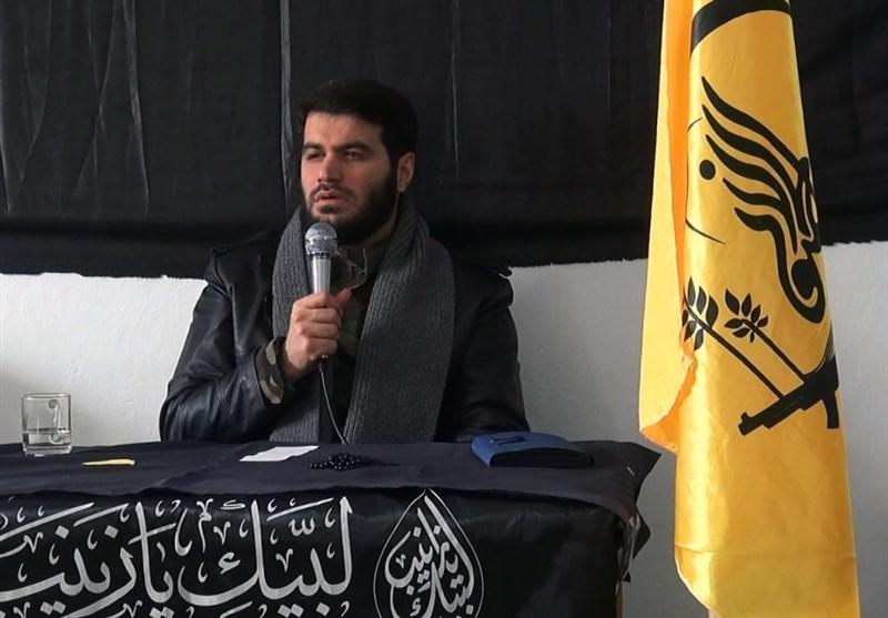 مداحی میثم مطیعی میان لشکر فاطمیون در حلب+ فیلم
