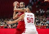 جام جهانی بسکتبال| حدادی موثرترین بازیکن ایران شد