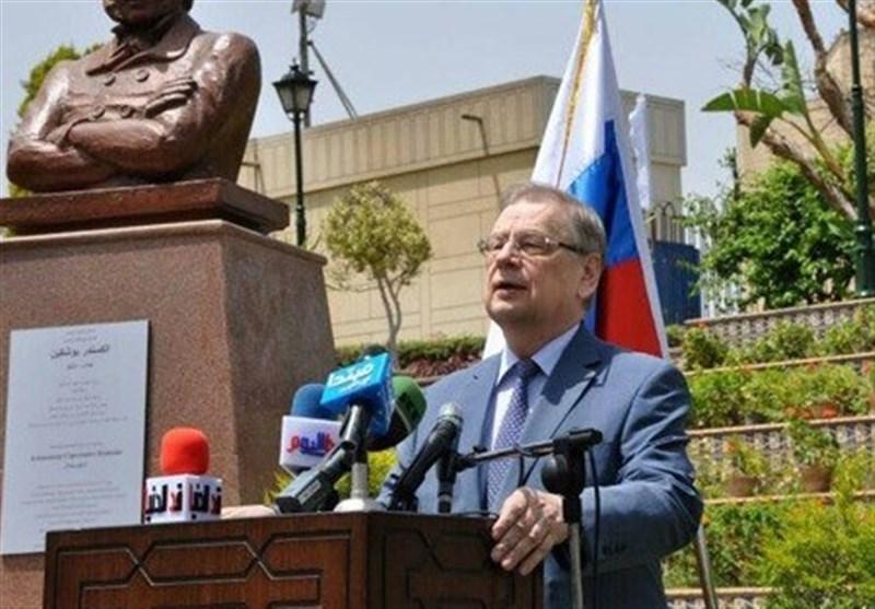 سفیر روسیه در مصر درگذشت