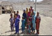 محرومیتهای سیستان و بلوچستان| 4000 نفر در «توتان» با کمترین امکانات زندگی میکنند + فیلم