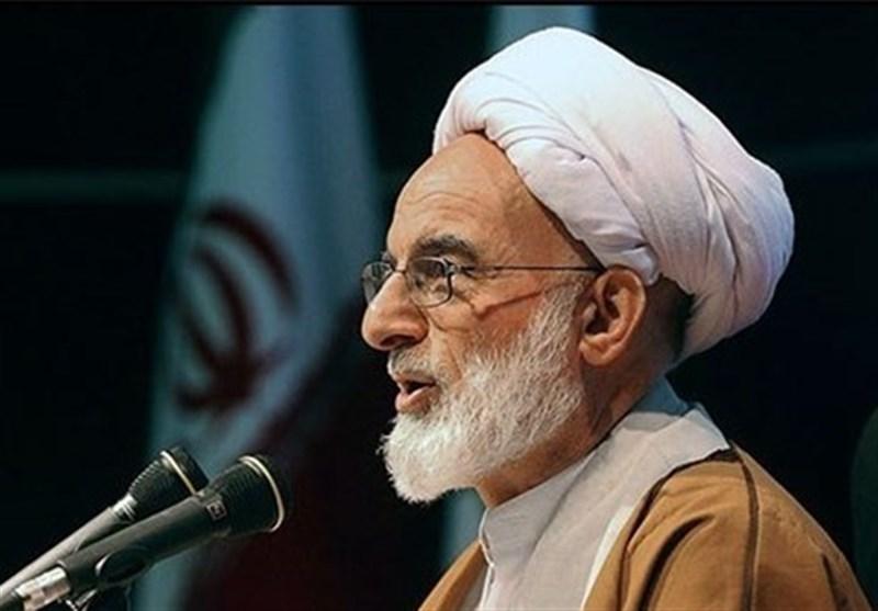 آیتالله درّی نجفآبادی: ملت ایران مقهور بازیآمریکا، غرب و بزککنندگان آنها نمیشود