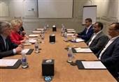 دیدار هیئت انصارالله و وزیر خارجه سوئد در مسقط