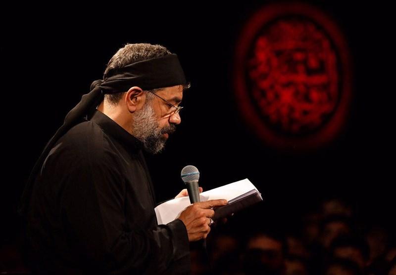 مداحی محمود کریمی در شب هشتم محرم 98