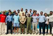 قهرمانی تیم عقاب نیروی هوایی در مسابقات شنای کارکنان ارتش