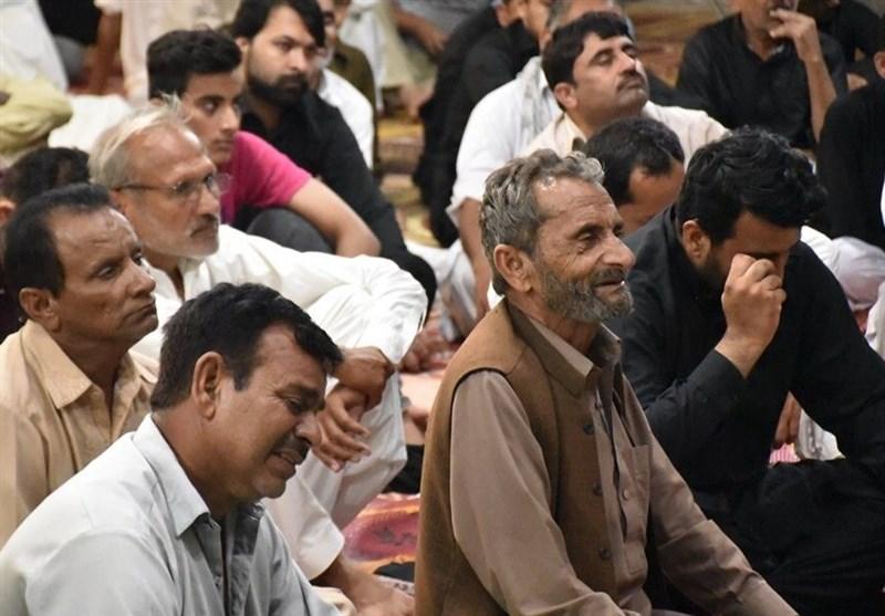 برگزاری مراسم عزاداری دهه اول محرم در پاکستان + تصاویر