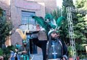 تعزیهخوانی در خانه هنرمندان ایران