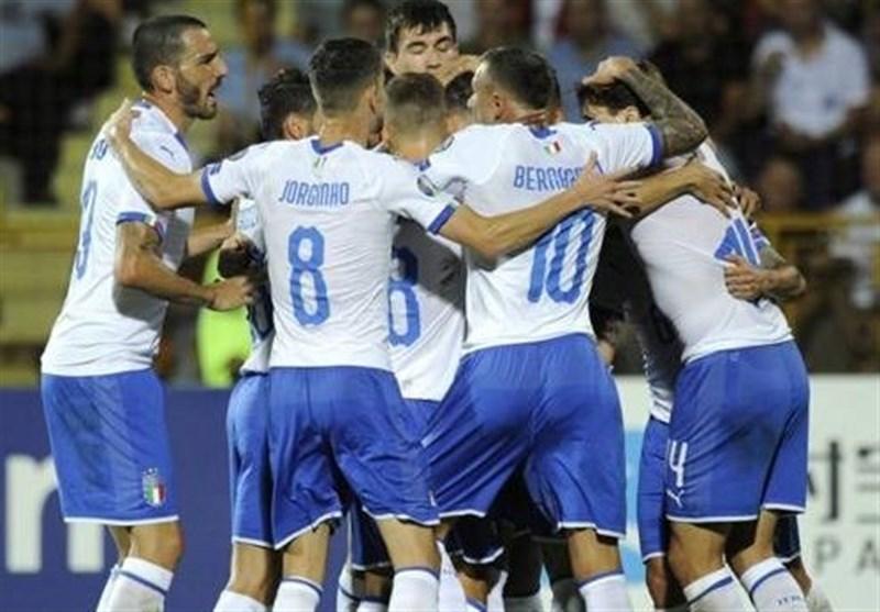 رکوردشکنی تیم ملی ایتالیا در مرحله انتخابی یورو 2020 با پیروزی مقابل ارمنستان