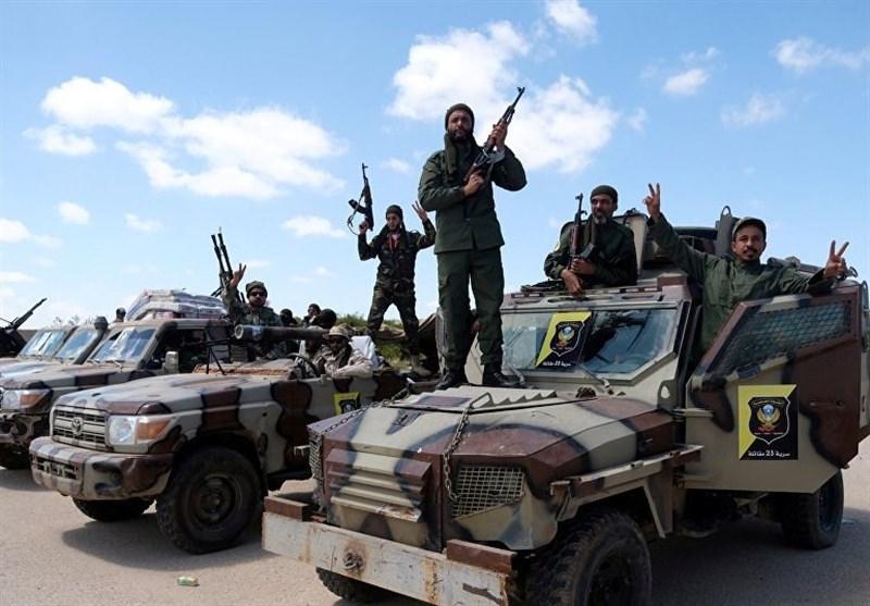 لیبی| پیشروی نیروهای الوفاق در مقابله با نیروهای «حفتر»