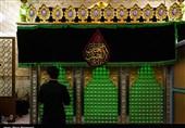 مراسم عزاداری در امامزاده ابراهیم و امامزاه جعفر شهید(ع) قم به روایت تصویر
