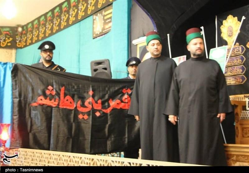 اصفهان| استقبال از خادمان و پرچم حرم حضرت ابوالفضل (ع) به روایت تصاویر