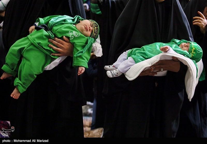 همایش جهانی شیرخوارگان حسینی همزمان با نخستین جمعه ماه محرم در مسجد مقدس جمکران