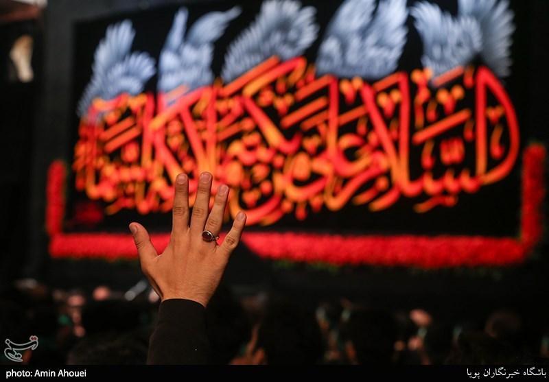 بیان شعار «به نفسی انت و اهلی و مالی» به معنای تبعیت از امام حسین(ع) در عمل است