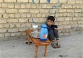 ایستگاههای صلواتی کودکان از میبد تا معمولان سیلزده/ این شور، حسینی است