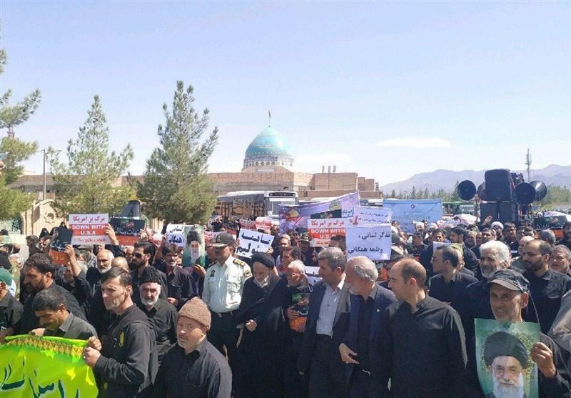 برگزاری راهپیمایی نمازگزاران خراسان جنوبی در حمایت از امر به معروف و نهی از منکر