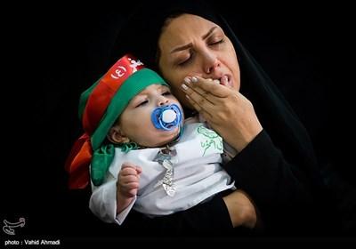 مراسم شیرخوارگان حسینی - مصلی تهران