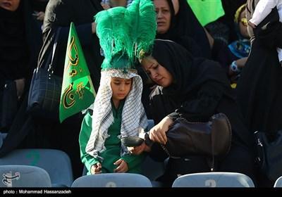 مراسم شیرخوارگان حسینی - استادیوم آزادی