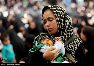 مراسم شیرخوارگان حسینی - گرگان