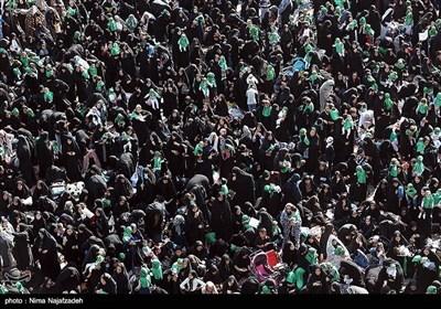 مراسم شیرخوارگان حسینی - مشهد