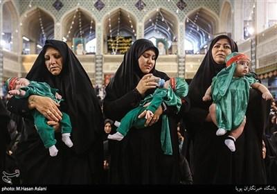 مراسم شیرخوارگان حسینی - مهدیه تهران