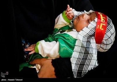 مراسم شیرخوارگان حسینی - کیش