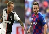 دلیل عدم توافق بارسلونا و یوونتوس برای معاوضه راکیتیچ و برناردسکی با وجود رضایت 2 بازیکن