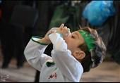 لالایی بغض آلود مادران همدانی در همایش شیرخوارگان حسینی+تصاویر