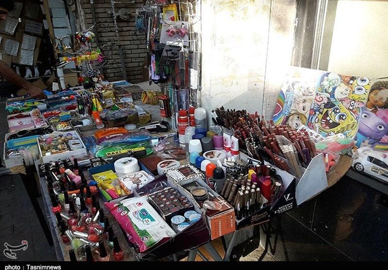 """محصولات آرایشی و بهداشتی دستفروشان در کردستان """"تقلبی"""" است"""