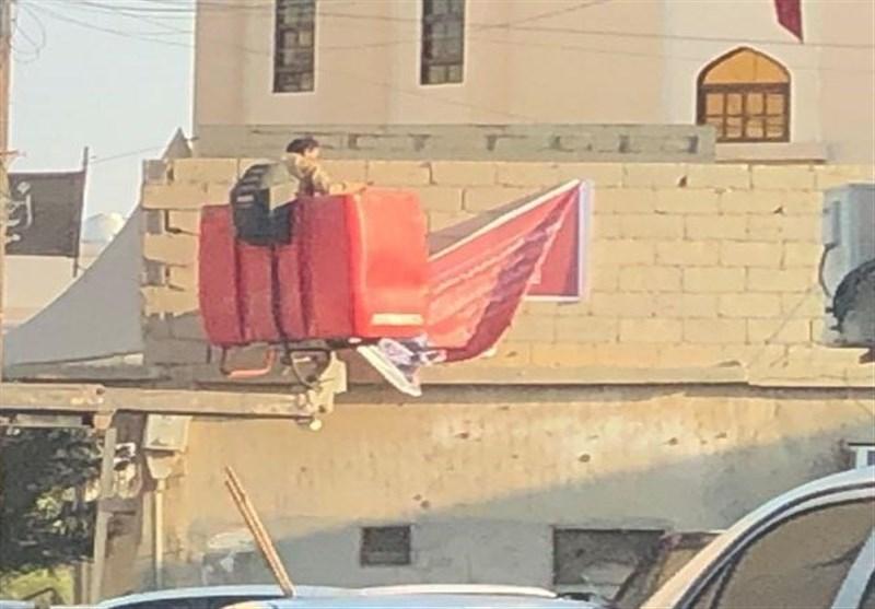 ادامه جنگ رژیم آل خلیفه علیه نمادهای عاشورایی در بحرین