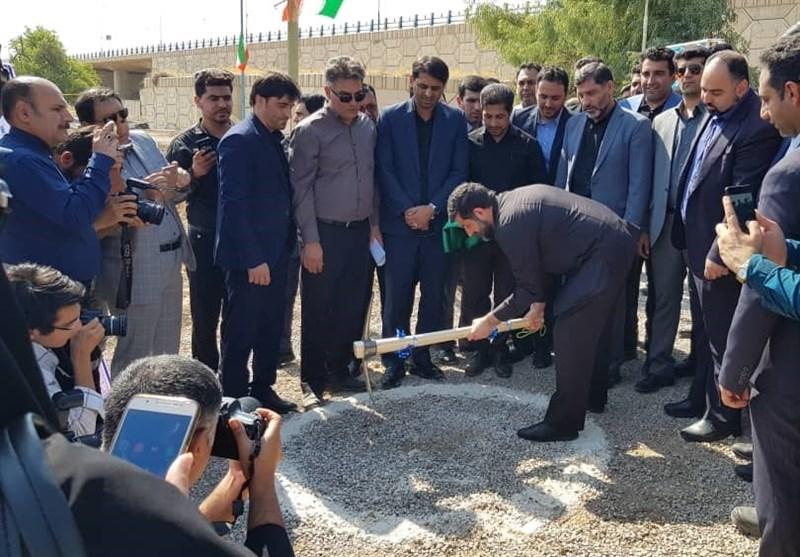 خوزستان| تصفیه خانه 25 هزار مترمکعبی آب شرب شوشتر کلنگ زنی شد