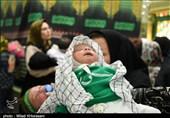 همزمان با تاسوعای حسینی، آئین شیرخوارگان حسینی در نقاط مختلف استان یزد برگزار شد