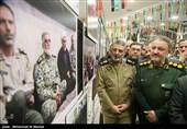 حضور امیر موسوی فرمانده کل ارتش در مراسم گرامیداشت سه دهه فعالیت هیئت رزمندگان اسلام قم