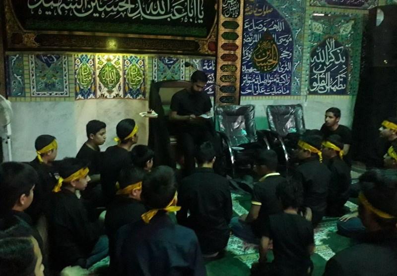 حاشیه شهر مشهد پای ثابت جلسات عزاداری امام حسین(ع)