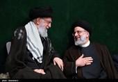 حجتالاسلام سیدابراهیم رئیسی و رهبر معظم انقلاب
