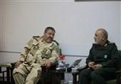 رئیس سازمان پدافند غیر عامل با سرلشکر سلامی دیدار کرد