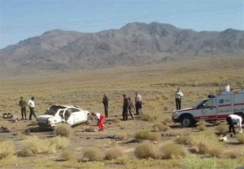 اصفهان| واژگونی سمند 2 کشته و 10 مصدوم بر جای گذاشت