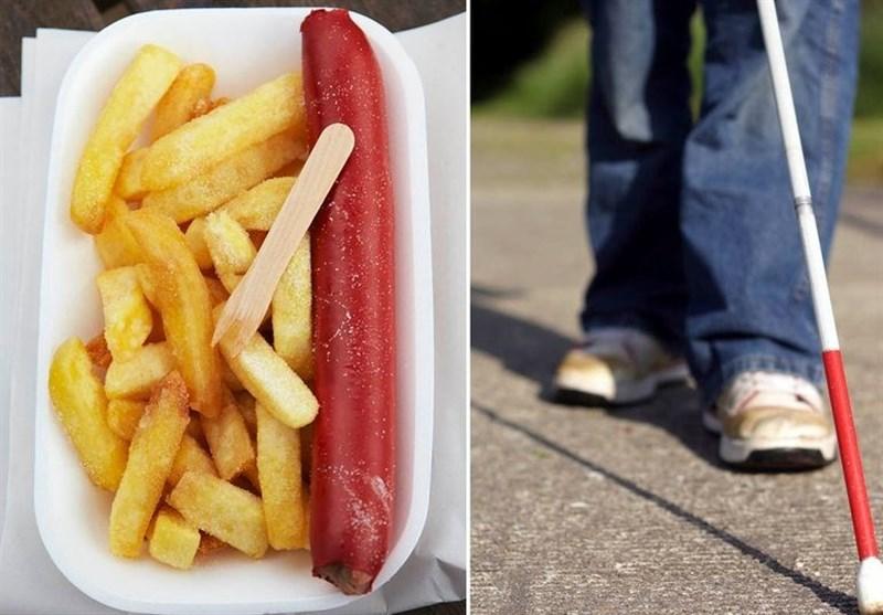 """افراط در خوردن """"فستفود"""" یک نوجوان انگلیسی را کور کرد"""