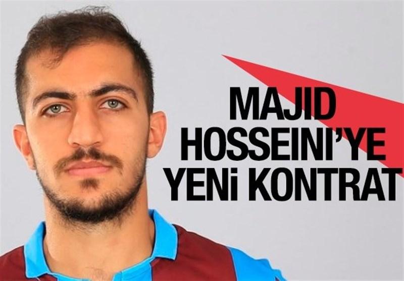 تمدید قرارداد مجید حسینی با ترابزوناسپور در ماه ژانویه