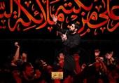 مداحی مجید بنیفاطمه در شب هفتم محرم 98