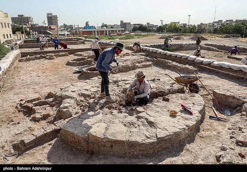 کاوش باستانشناسی مسجد جامع عتیق اردبیل؛ خلاء تحقیقات پیشین برطرف شد+تصاویر