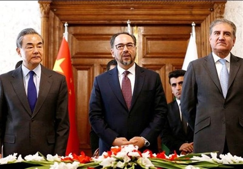 آغاز جلسه مشترک وزرای خارجه پاکستان، چین و افغانستان